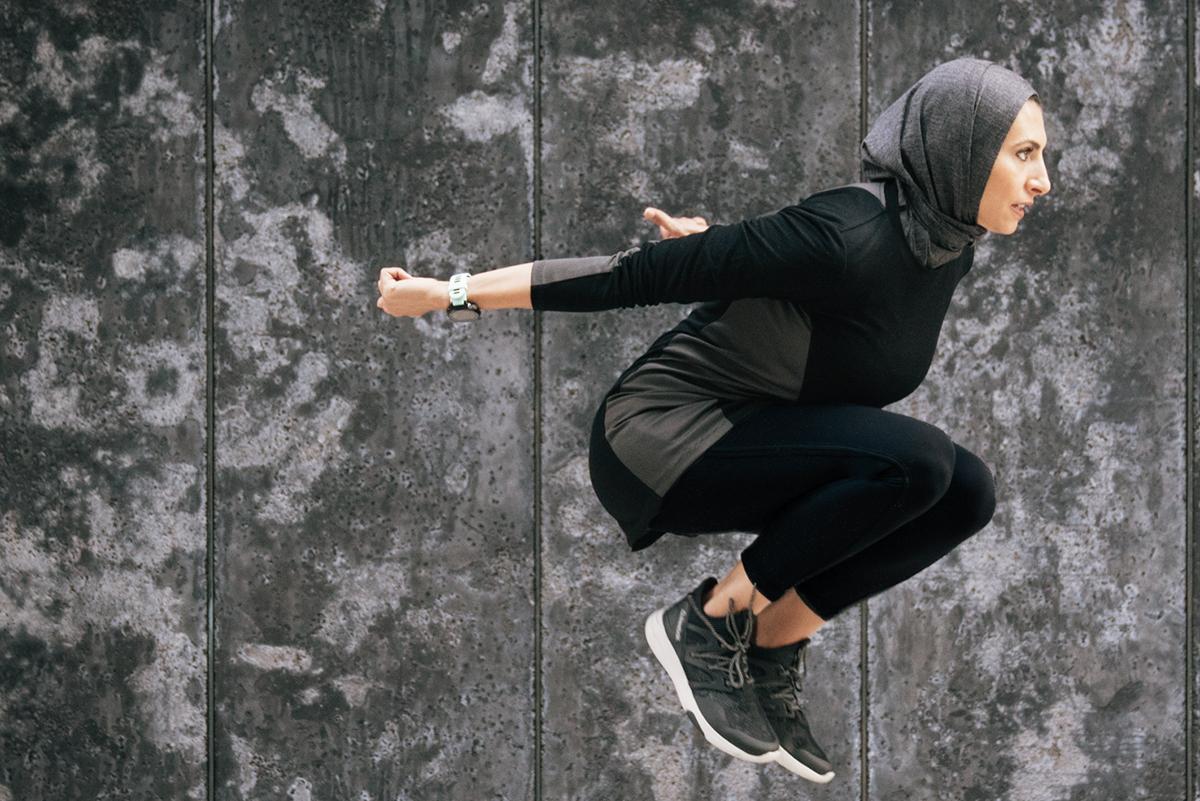 Sukoon Produk Hijab untuk mereka yang suka Aktive