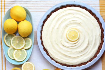 Ginger Tart with Lemon Mascarpone Cheese Tart