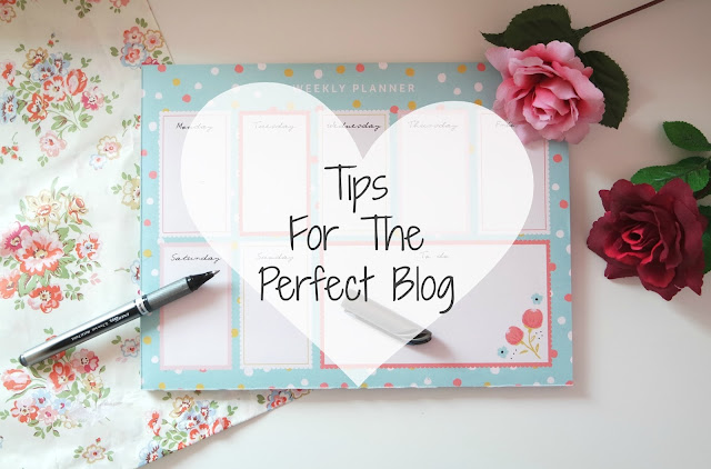 Blogging Tips for the perfect blog including design, contents, photography and social media tips
