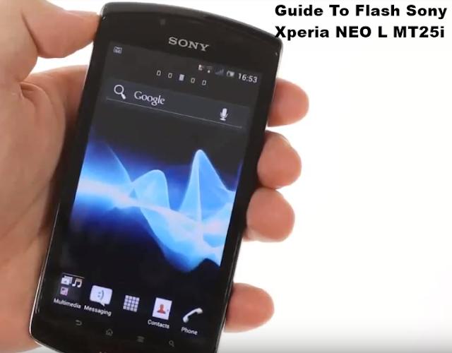 Flash Sony Xperia NEO L MT25i Ice Cream Sandwich 4.0.4 Tested Firmware