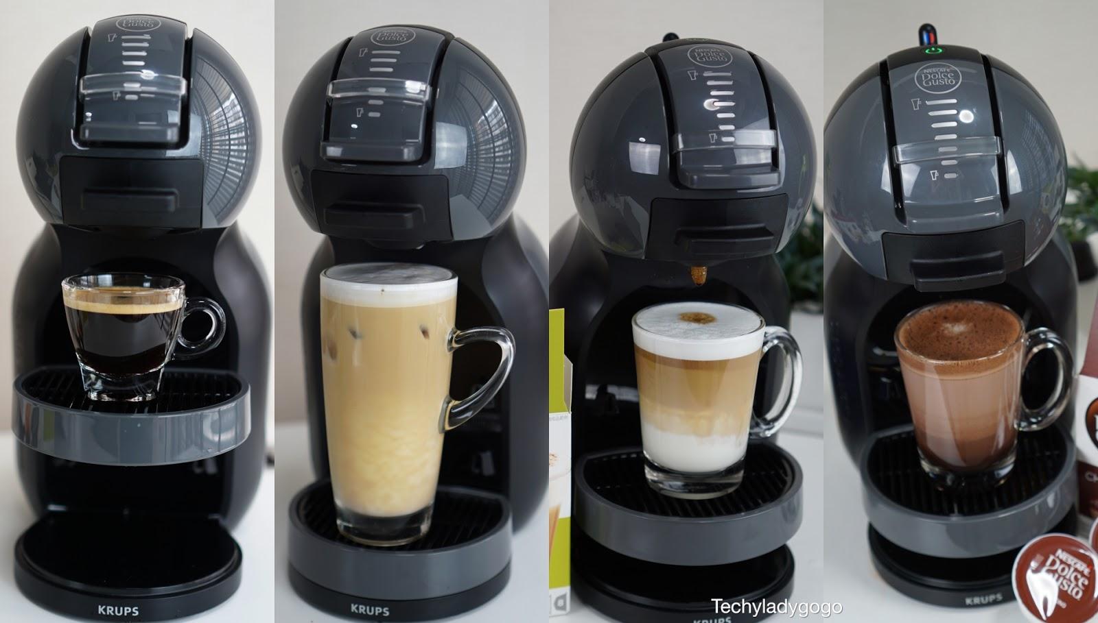 รีวิวเครื่องทำกาแฟ NESCAFÉ Dolce Gusto รุ่น Mini Me เครื่องชงกาแฟแคปซูลอัตโนมัติ  เนสกาแฟ ดอลเช่ กุสโต้ KRUPS TEFAL