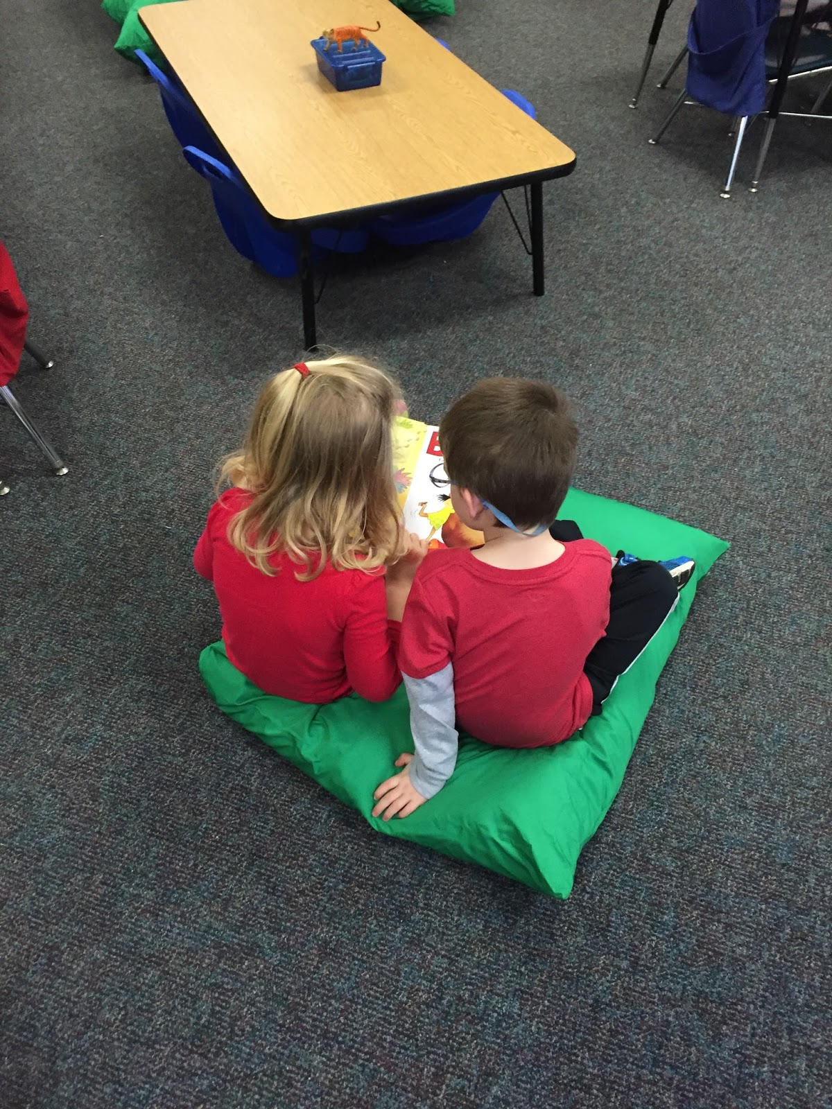 Kinder Garden: Kindergarten Is Grrreat!: Flexible Seating In Kindergarten