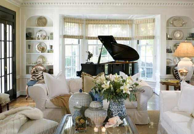 Color outside the lines pianos - Baby grand piano living room design ...