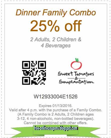Sweet tomatoes coupon may 2018