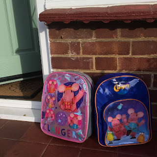 Clangers Rucksacks by step