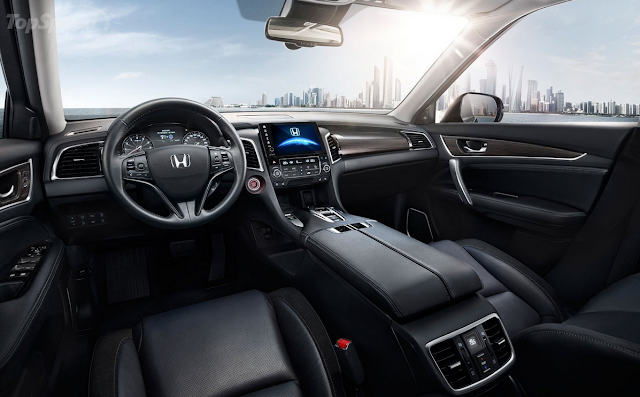 Interior Mewah Honda Avancier - SUV Honda Terbaru