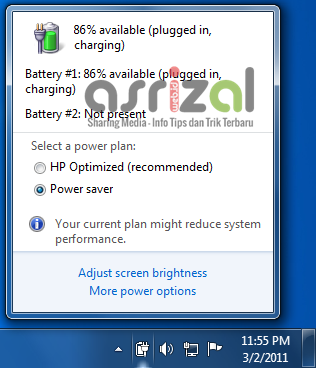 Cara Ampuh Mengatasi Consider Replacing Your Battery Pada Windows 7