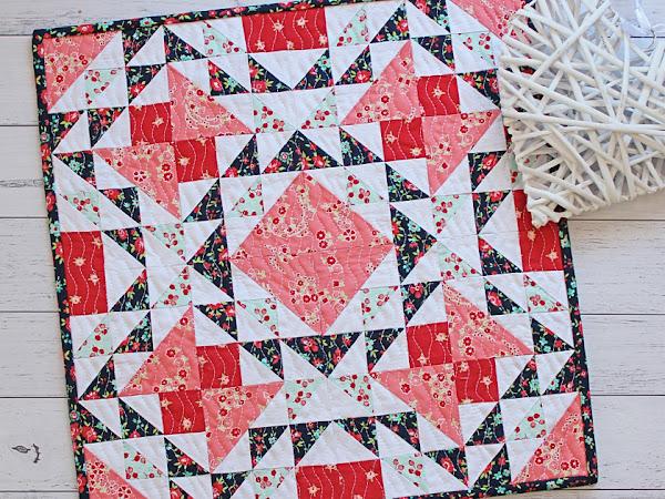 Giselle Mini Quilt PDF Pattern