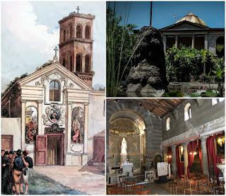 Santa Maria in Cappella, la chiesa, l'ospedale e i giardini della Pimpaccia - Visita guidata Roma
