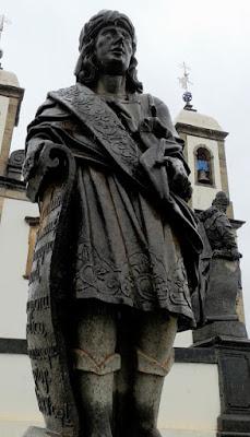 Escultura do Profeta Baruc em Pedra Sabão por Aleijadinho