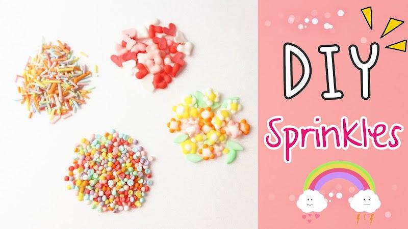 DIY Sprinkles 自家製裝飾糖果