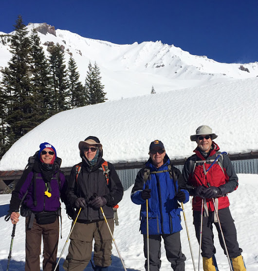 Mt Shasta 2017 Cancer Climb and Trek for Prostate Awareness