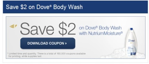 dove coupons canada