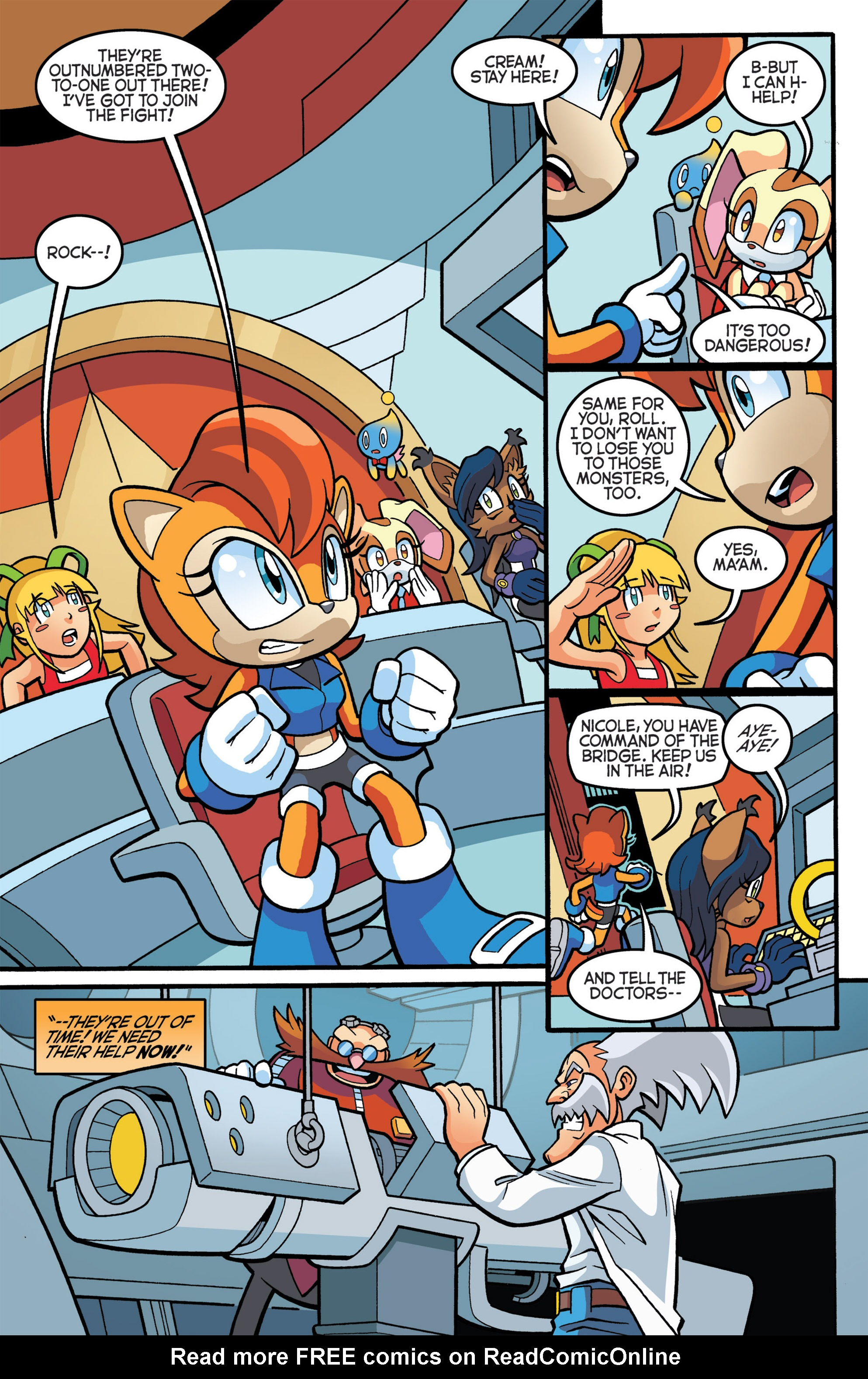 Read online Sonic The Hedgehog comic -  Issue #274 - 7