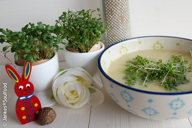 Kresse-Suppe für Osterbrunch