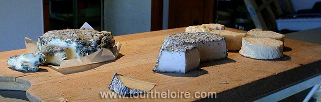 On your tour of the Loire Valley learn how goat's cheese is made and matured