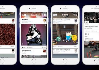 Aplicación móvil Coub para hacer vídeos