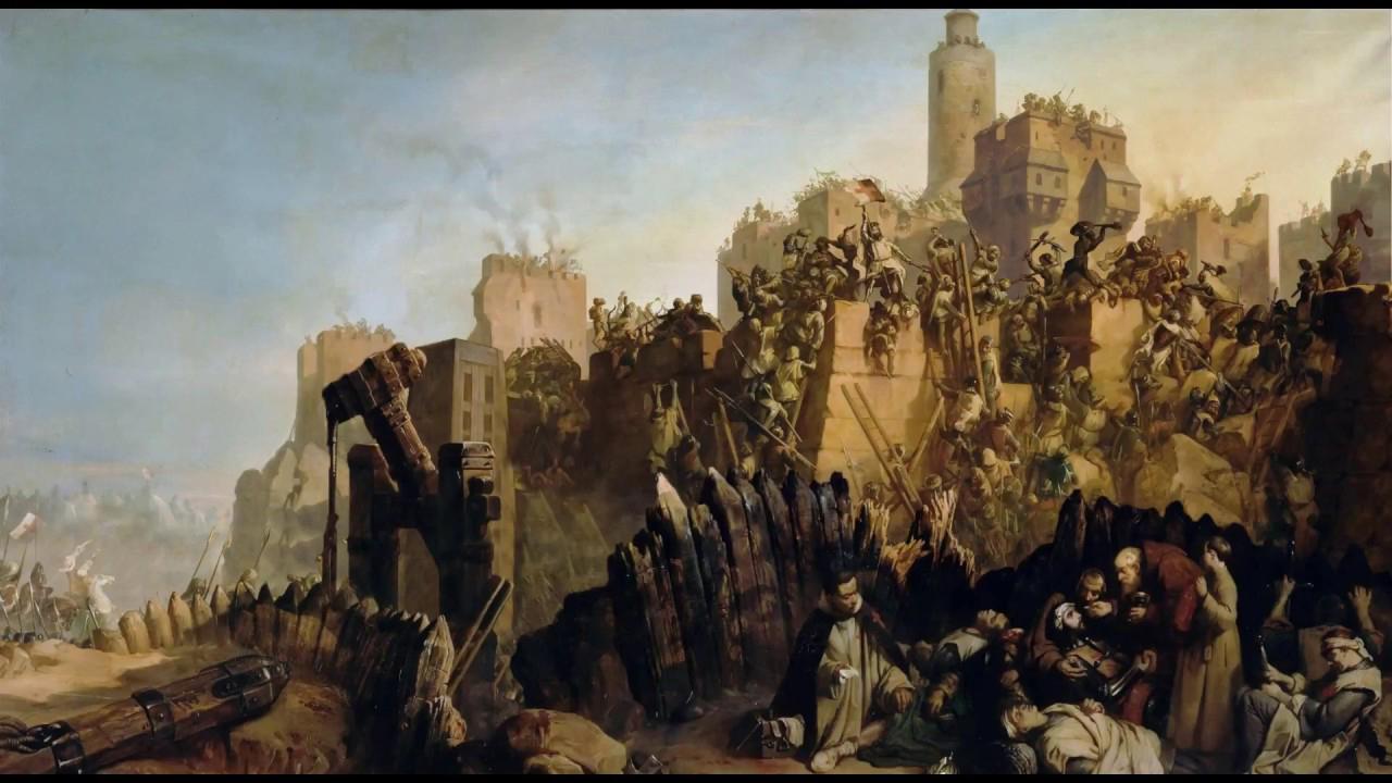 kota yerussalem selama perang Salib