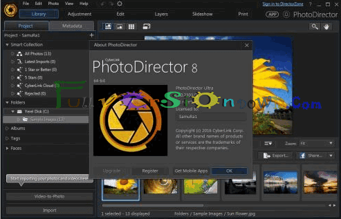 CyberLink PhotoDirector Ultra Latest Full