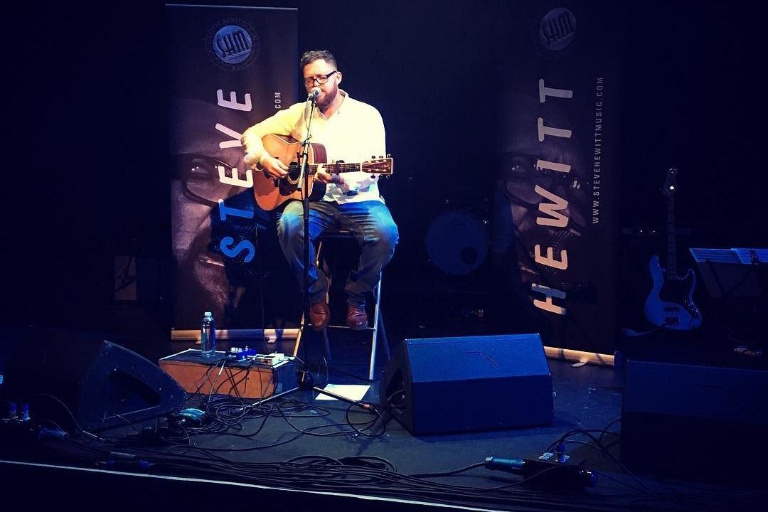 STEVE HEWITT Releases Free Download Of Live Album Tracks