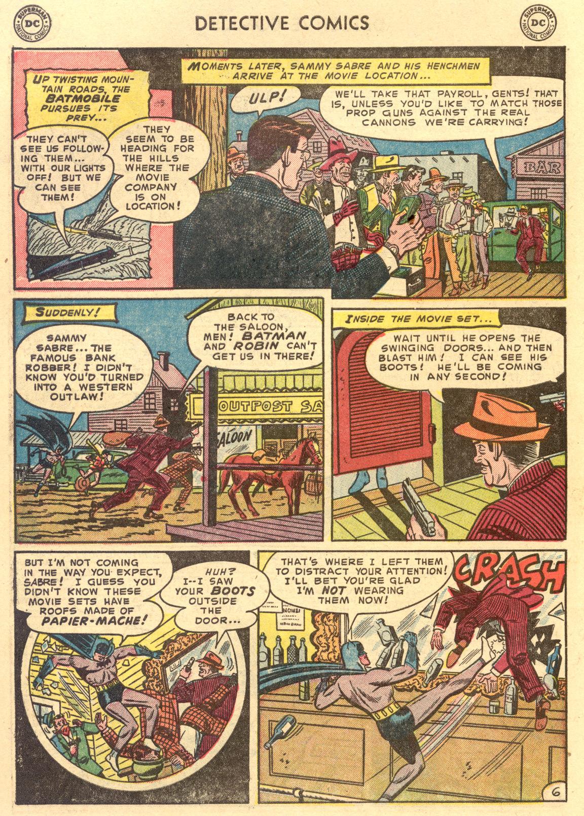 Read online Detective Comics (1937) comic -  Issue #194 - 8
