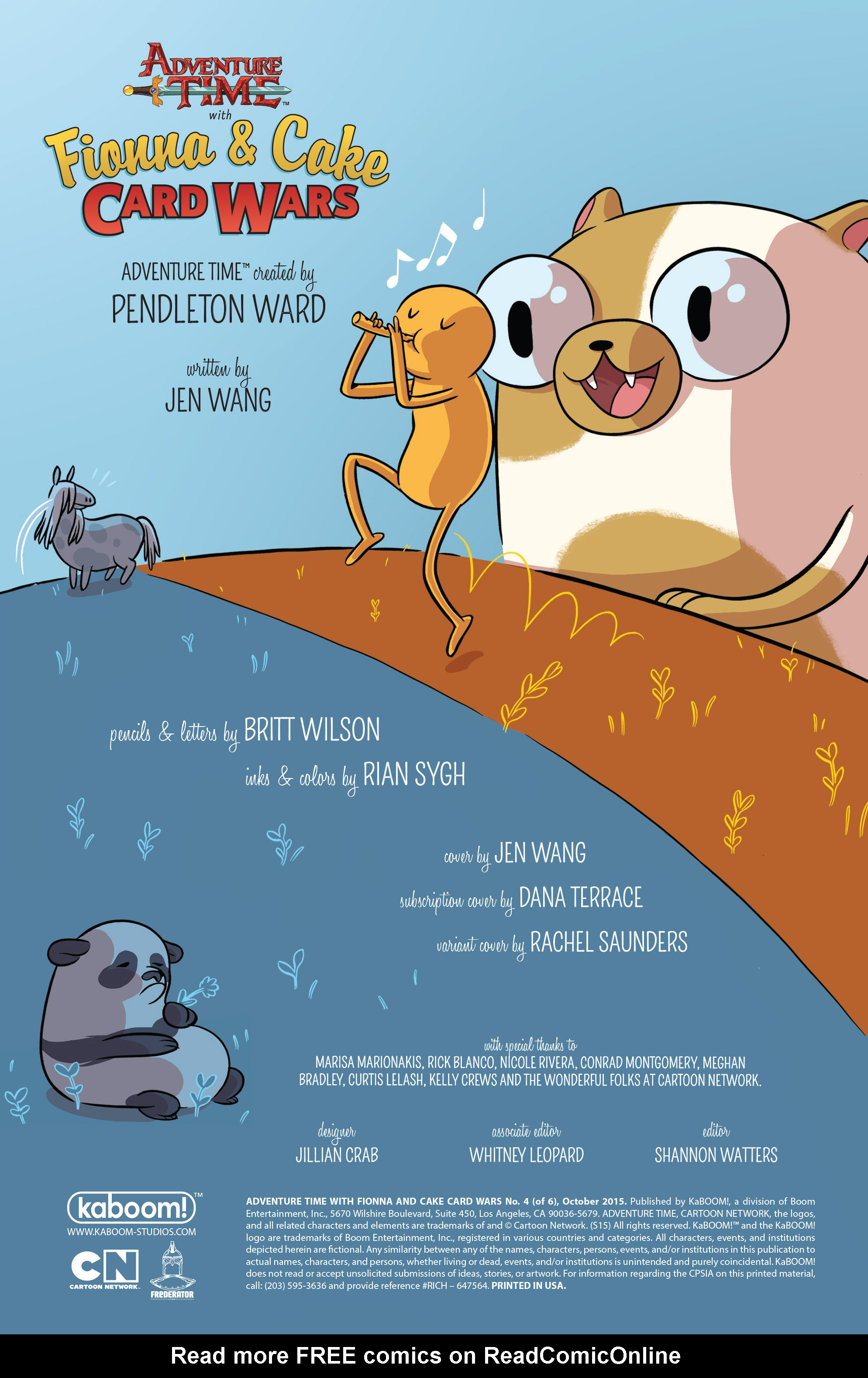 Read online Adventure Time Fionna and Cake Card Wars comic -  Issue #4 - 2