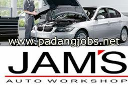 Lowongan Kerja Padang: Jam's Autoworkshop Mei 2018