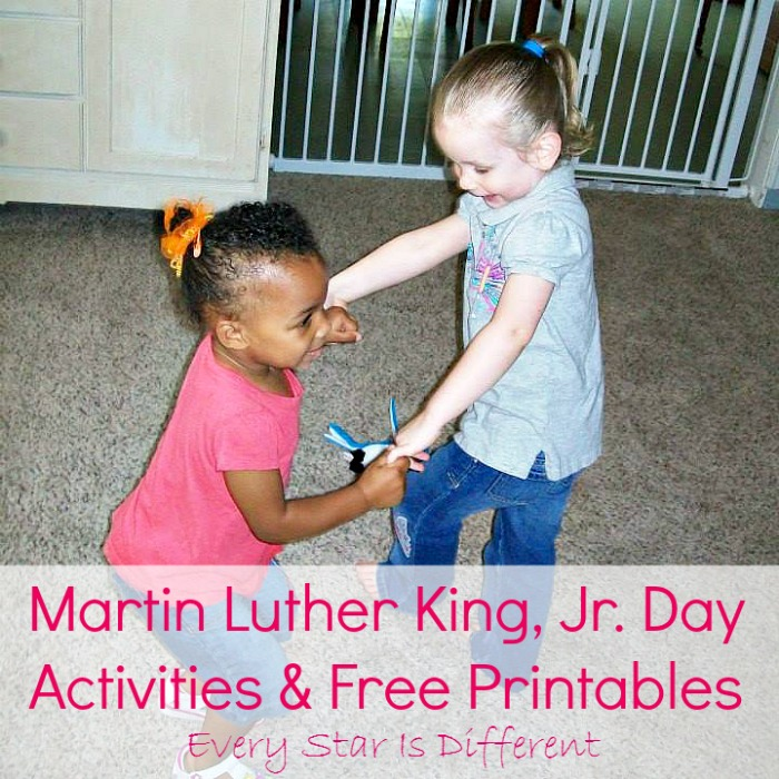 Martin Luther King, Jr. Activities & Free Printables