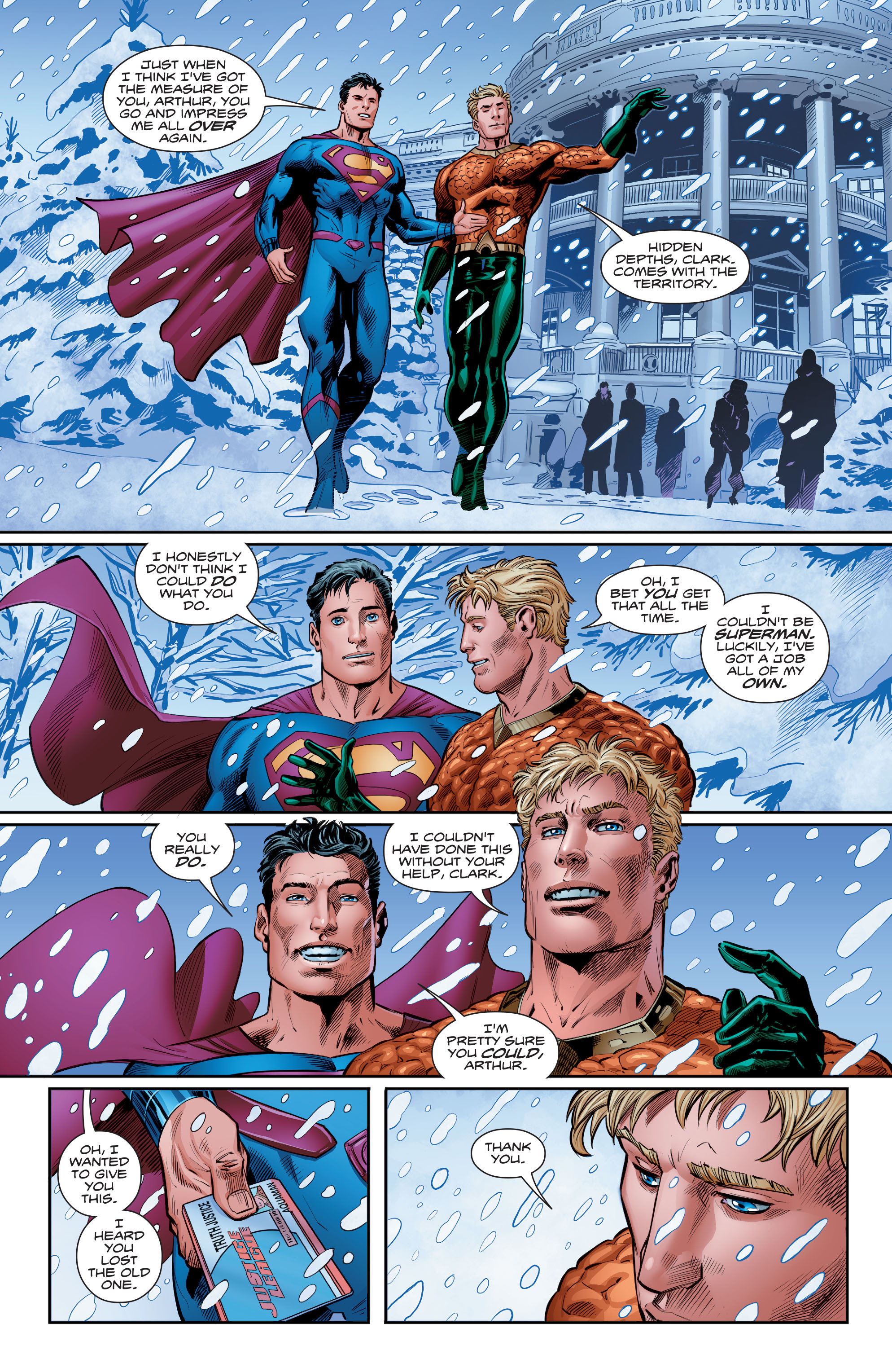 Read online Aquaman (2016) comic -  Issue #15 - 18