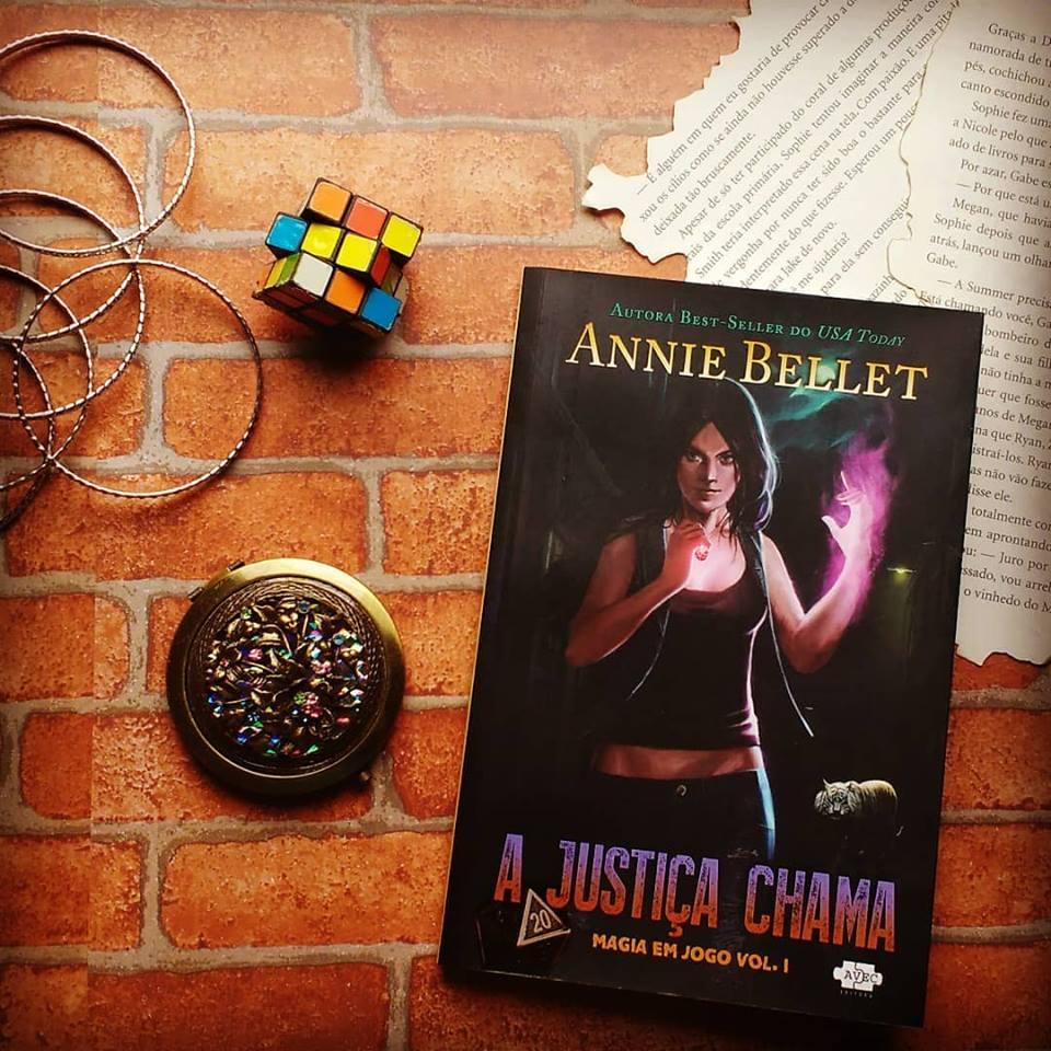 [Resenha] A Justiça Chama - Magia em Jogo #1