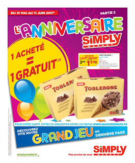 Catalogue Simply Market 31 Mai au 11 Juin 2017