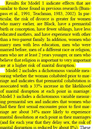 Like tell history of premarital sex logically