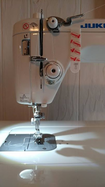 Adding a laser to a Juki sewing machine