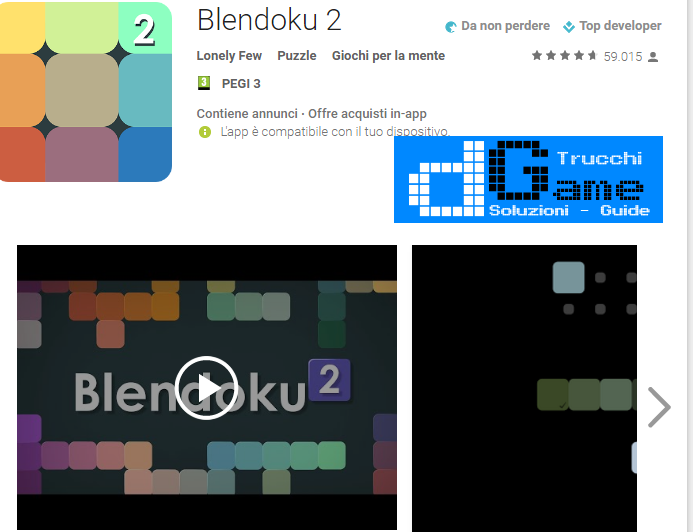 Soluzioni Blendoku 2 Simple livello 51-52-53-54-55-56-57-58-59-60 | Trucchi e Walkthrough level