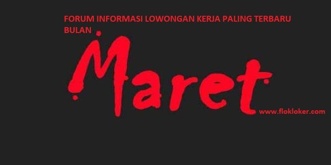 PT STAR COSMOS INDONESIA - Membuka Lowongan Kerja Bulan maret
