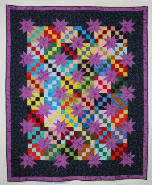 Purple Stars - Free Pattern