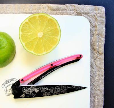 couteau personnalisé deejo