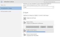 Cambiare lingua a Windows 10 (PC in italiano o aggiungendo altre lingue)
