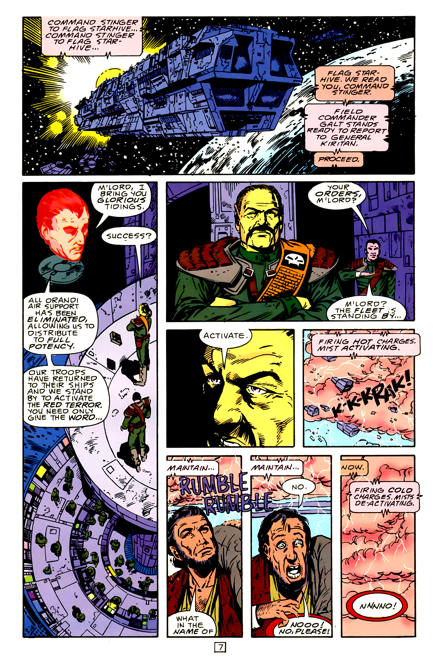 Legion of Super-Heroes (1989) 15 Page 7
