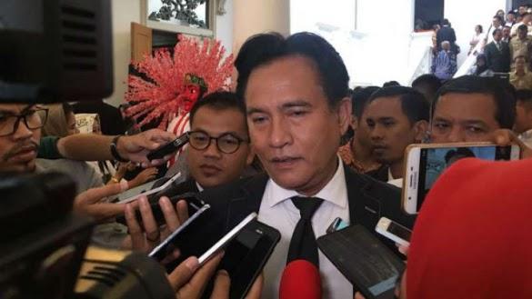 Yusril: Jika Pak Jokowi Dihujat, Dicaci dan difitnah Tentu Saya Akan Bela