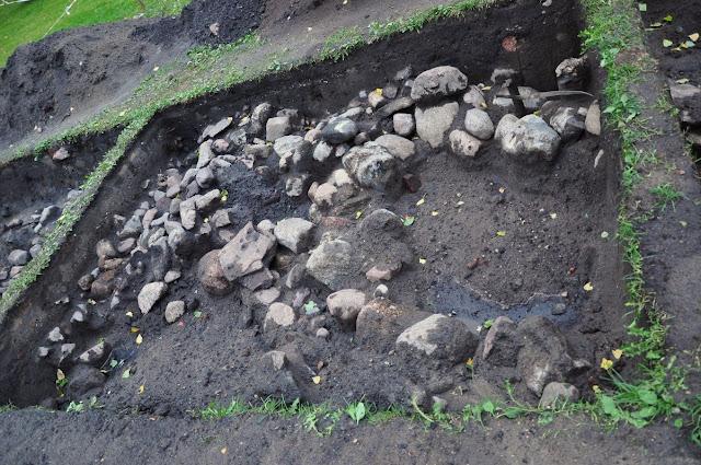 Kłecko grodzisko wczesnośredniowieczne - wykopaliska