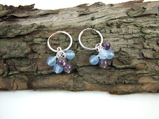 https://folksy.com/items/7112645-Earrings-Sterling-Silver-Aquamarine-and-Amethyst-Cluster-Hoops