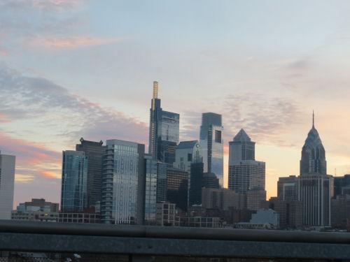 Philadelphia sunrise
