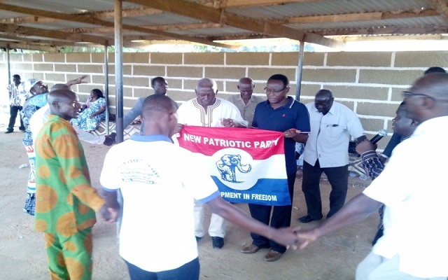 Pastors pray against Akufo-Addo's 'mock' coffin [Photos]