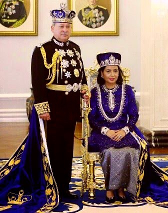 HRH The Sultan And Permaisuri Of Johor