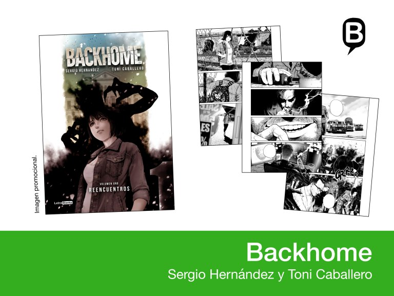 Backhome - Toni Caballero y Sergio Hernandez - Letrablanka