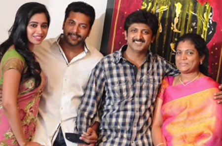 Jayam Ravi & Jayam Raja's family photoshoot