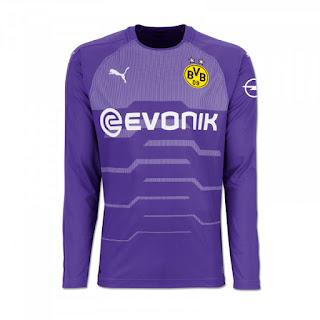 Borussia Dortmund Puma Goalkeeper Kit 2018-19