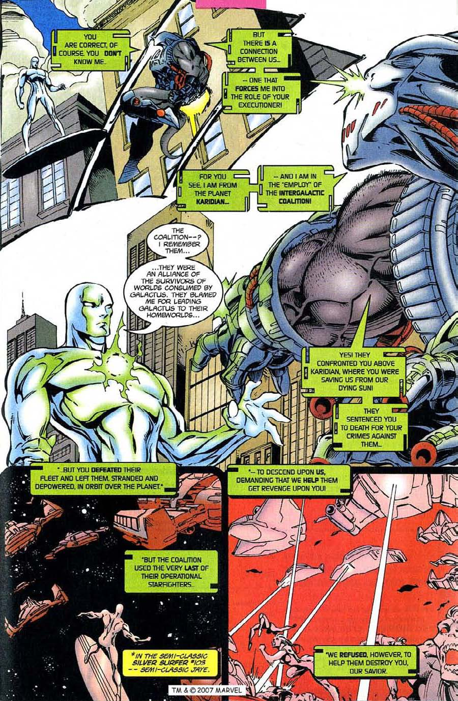 Read online Silver Surfer (1987) comic -  Issue #124 - 17