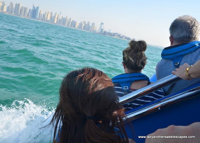 Dubai sightseeing via RIB boat